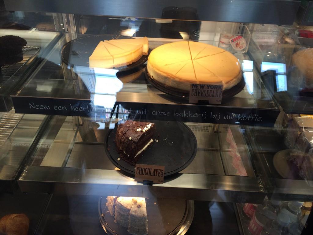 Starbucks taarten