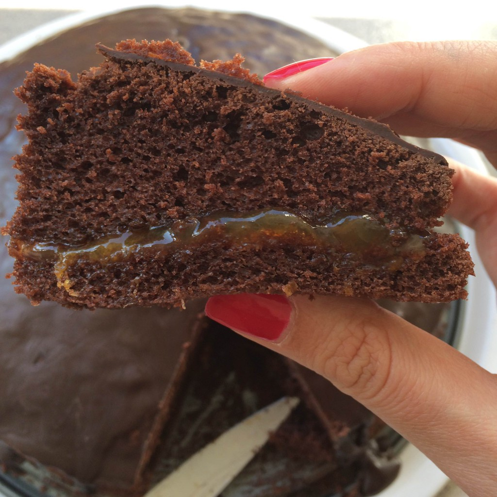Food & Drinks Review | Sacher Torte met Glazuur van Dr. Oetker