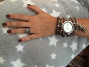 Armbanden en horloge Just Loes