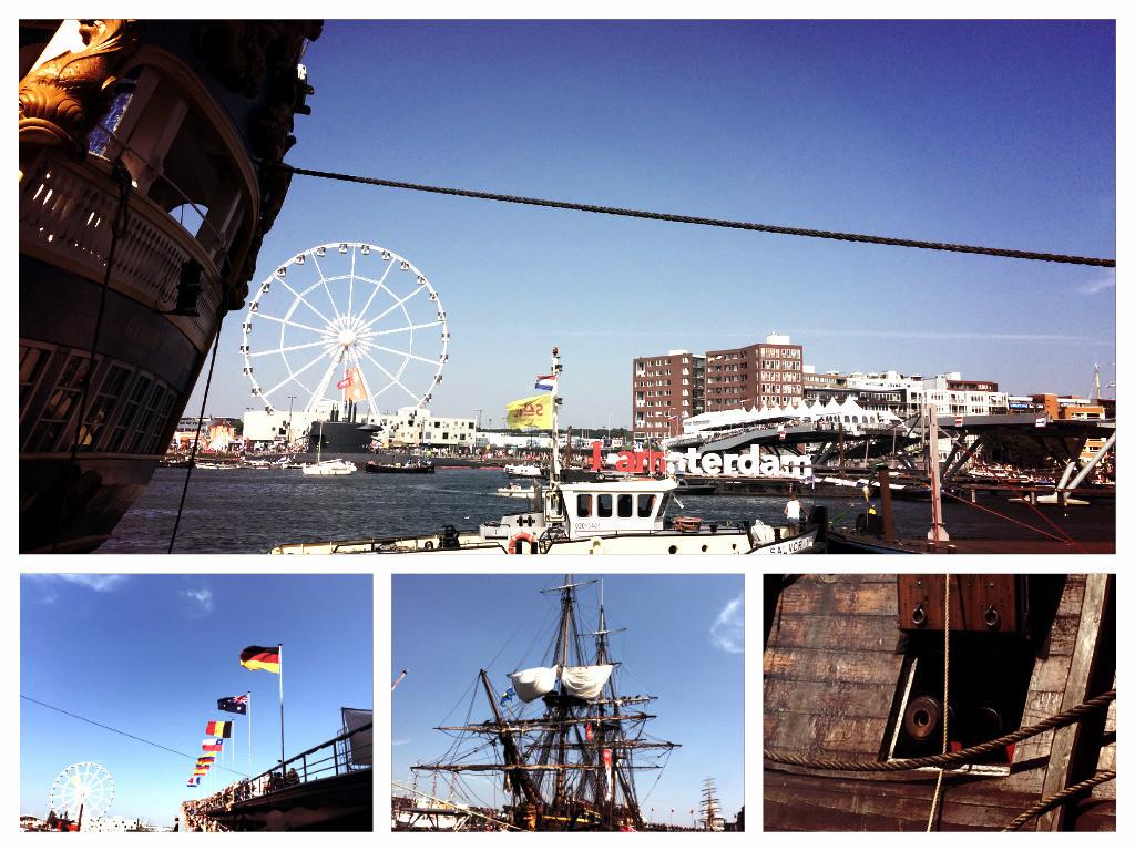 Collage Sail Amsterdam