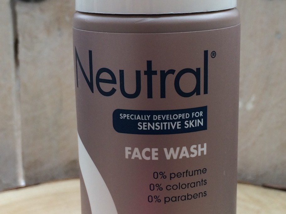 Neutral Face Wash Close up