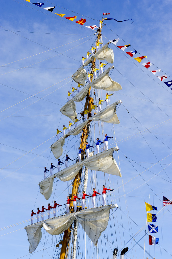 Tallship Gloria, Columbia