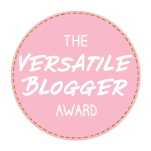 Personal | Versatile Blogger Award