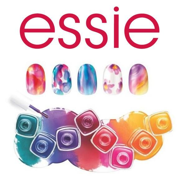 Essie Silk Watercolors collection 2015