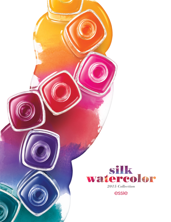 Beauty Review | Essie Silk Watercolors collection 2015 + swatches!