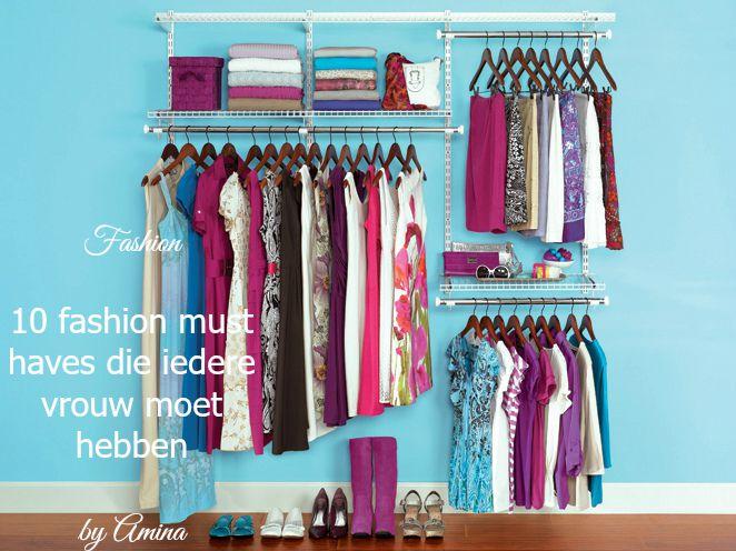 Fashion | 10 fashion must haves die iedere vrouw moet hebben
