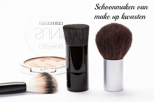 Blogs op verzoek! | Schoonmaken van make up kwasten
