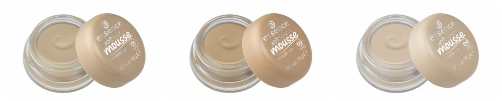 essence most loved collection - soft touche mousse make-up