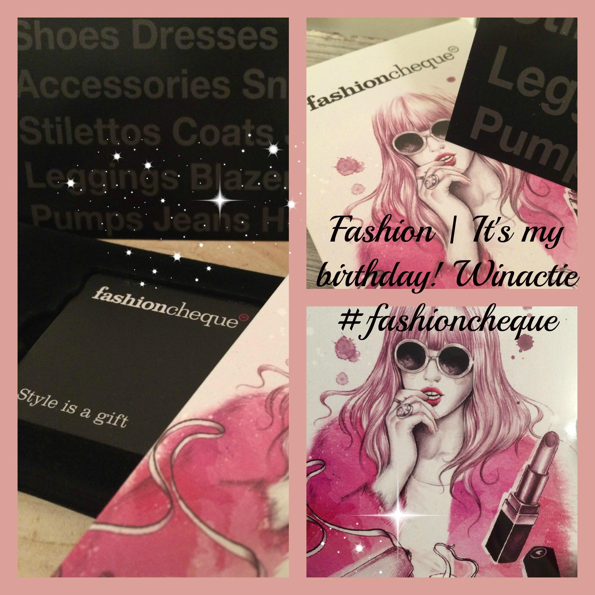Fashion | It's my birthday & winactie! #fashioncheque
