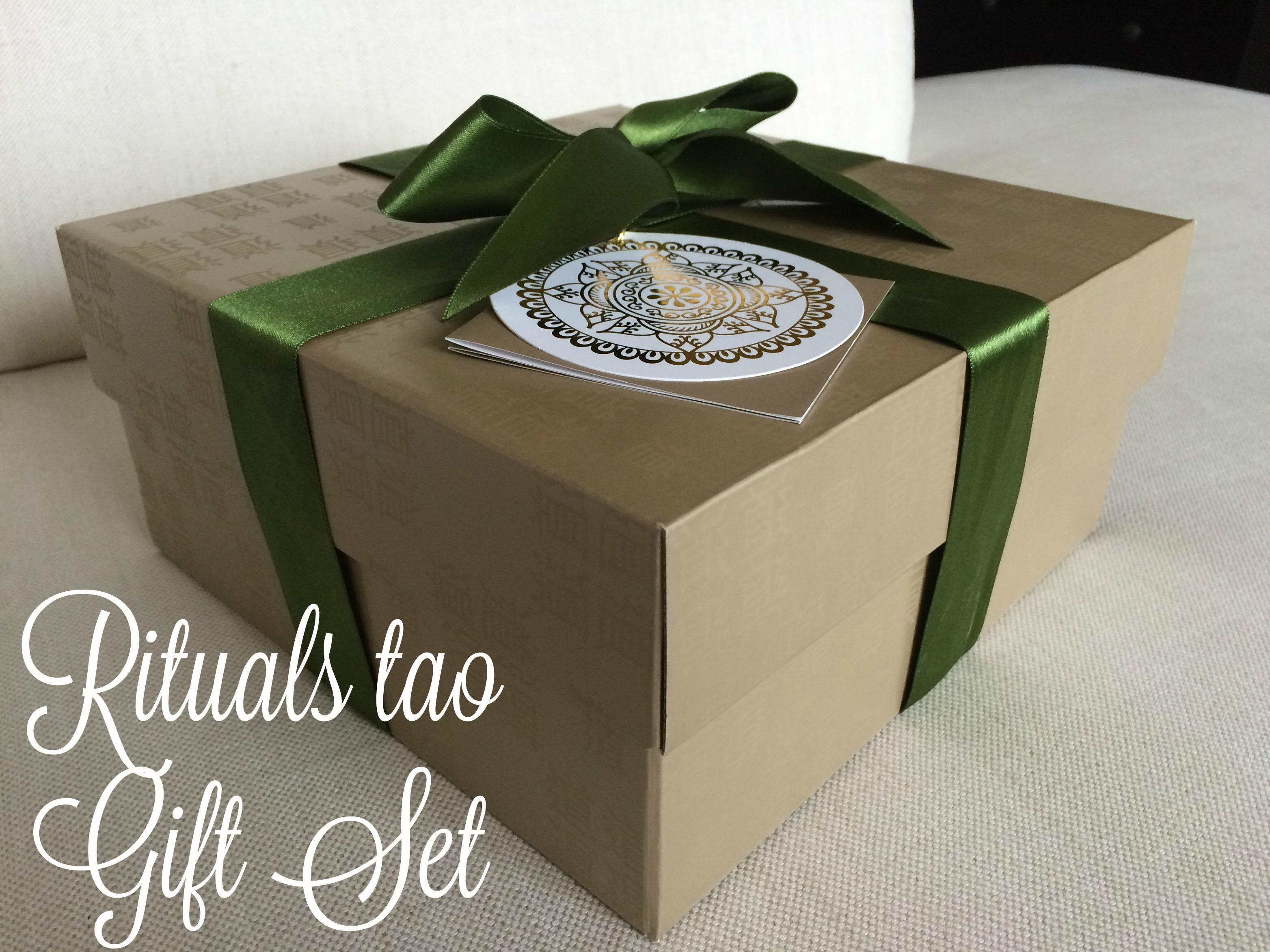 Shopping voor de feestdagen | Rituals Tao Gift Set