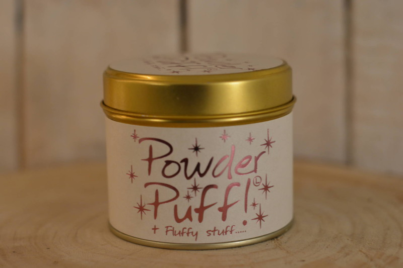 Lily-Flame Powder Puff scented candle