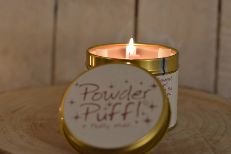 Winactie Lily-Flame Powder Puff scented candle