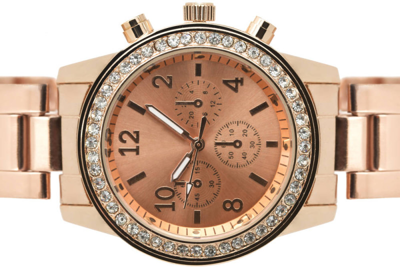 Rose gold watch imfeelinggood.nl