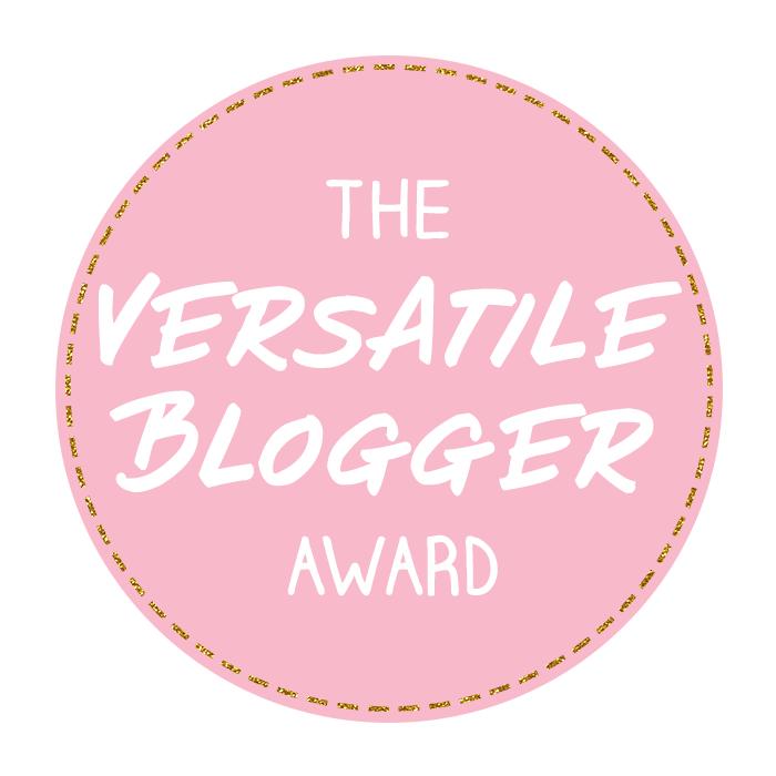 versatile blogger award button