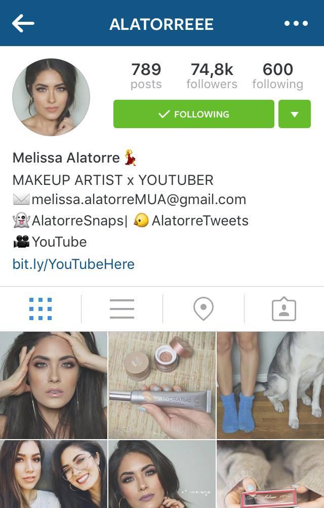 Beauty Instagrammer Alatorreee