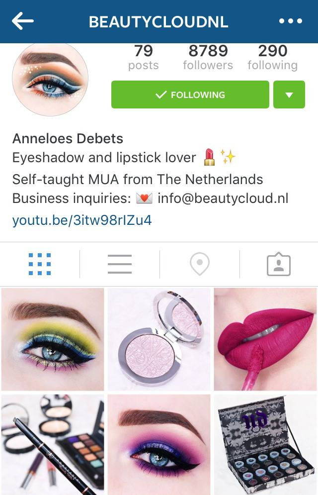 Beauty Instagrammer Beautycloudnl