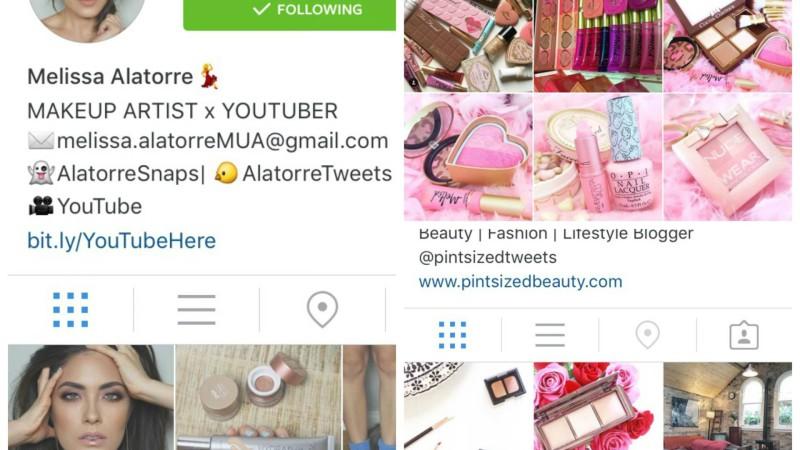 Mijn 5 favoriete Beauty Instagrammers #1