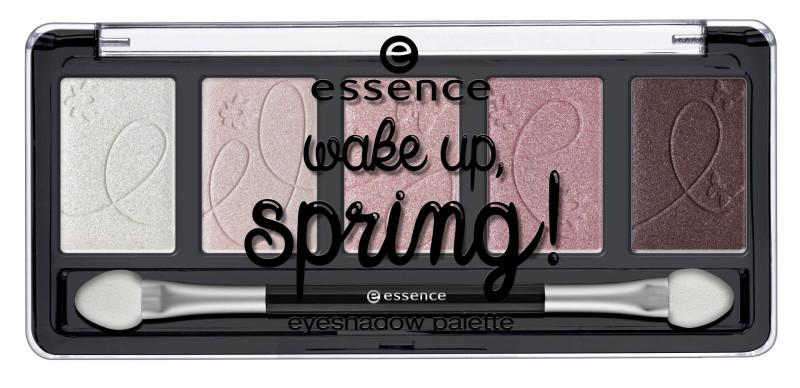 Essence eyeshadow palette Wake up Spring