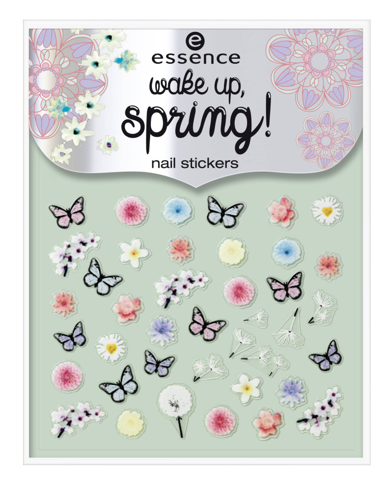 Essence wake up, spring! nail stickers