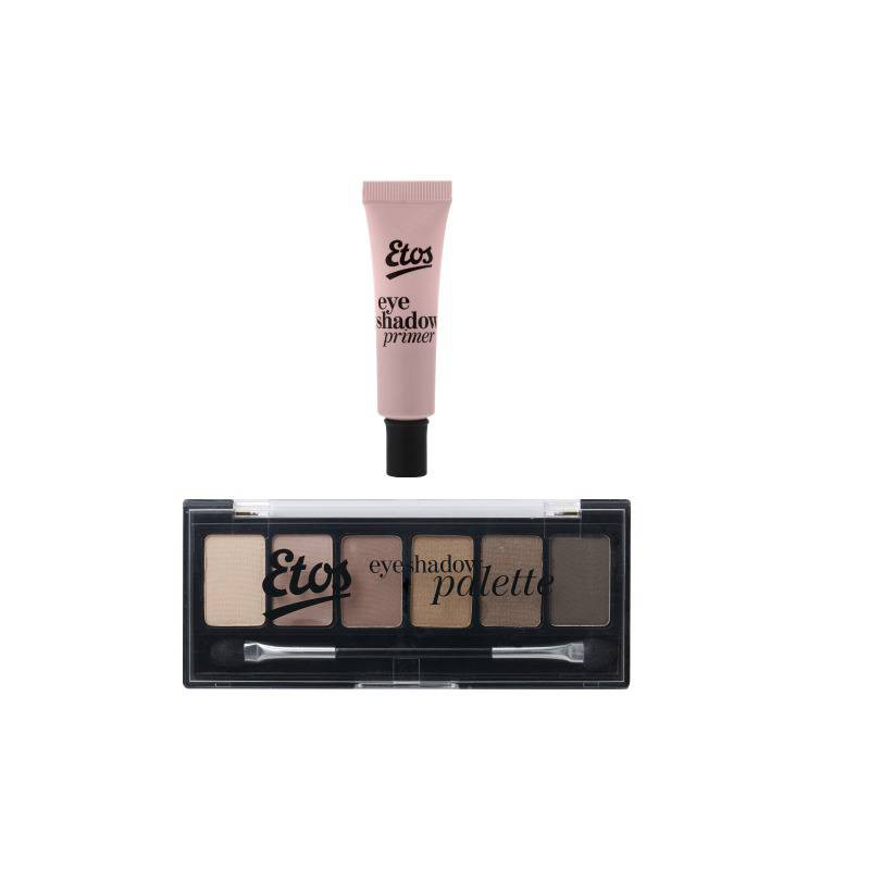Etos Eyeshadow Primer and Etos Eyeshadow Palette