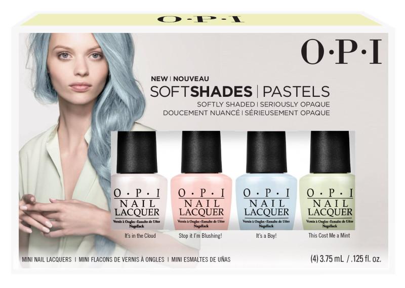 OPI SoftShades - Pastels - minis
