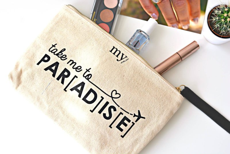 Take me to PARADISE bag in bag tasje