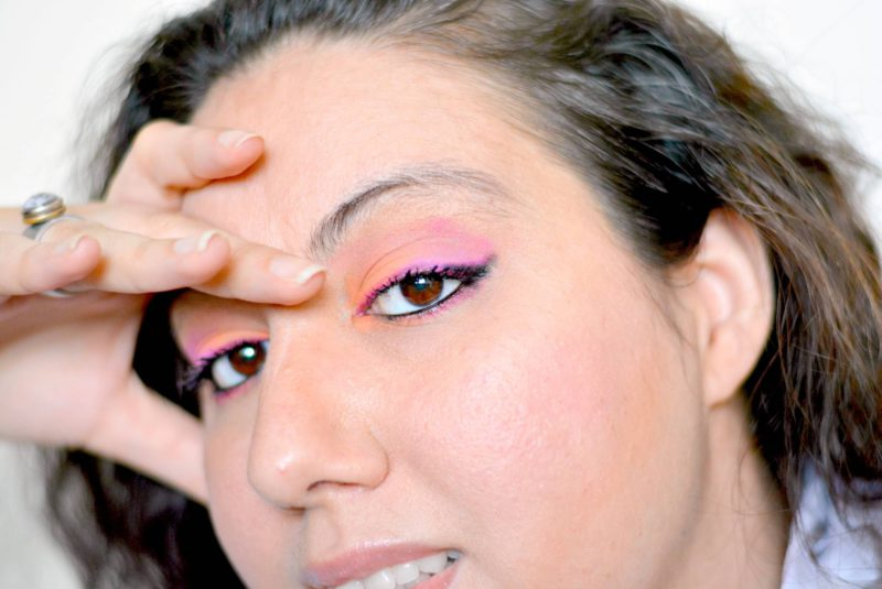 Sleek acid 570 pink and tangerine