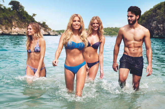 Sylvie Meis Swim Collection Photo shoot Heritage