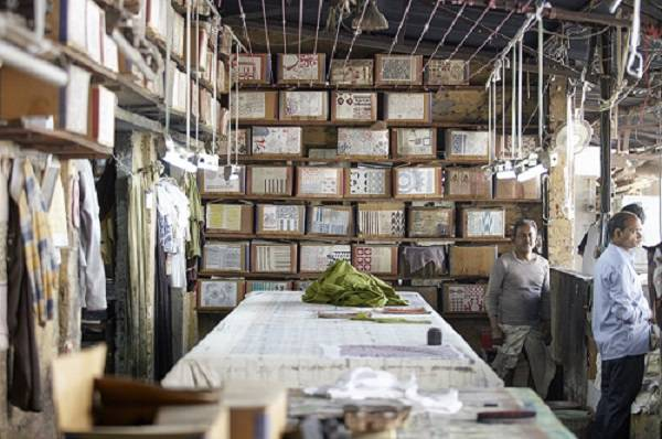 Block printing India Antik Batik X L'OCCITANE