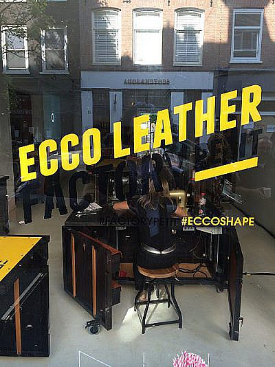 Fashion Event | Ecco Leather Factory Petit event