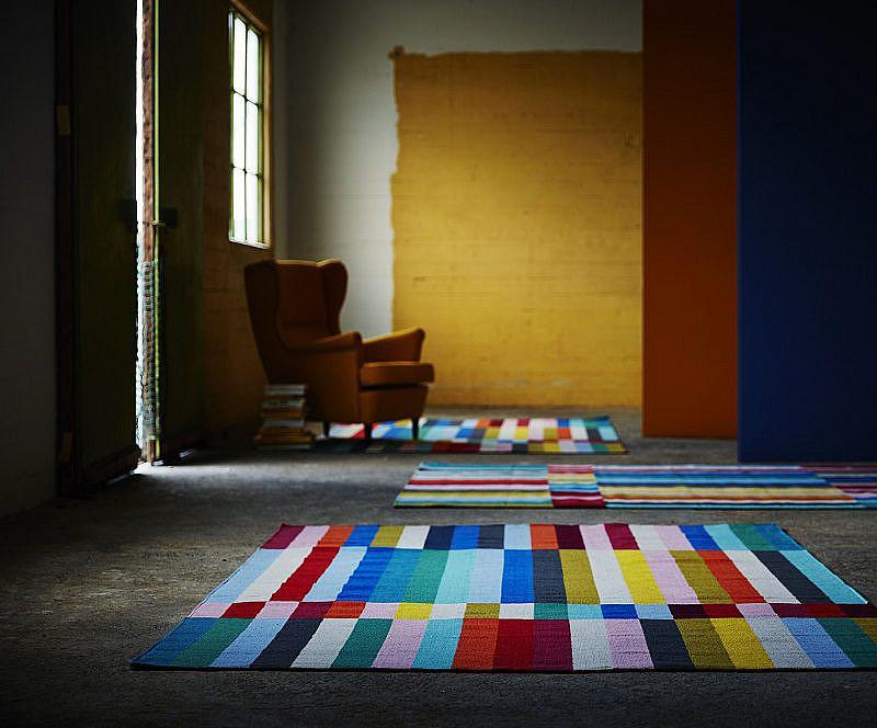 Halved rug IKEA 2016