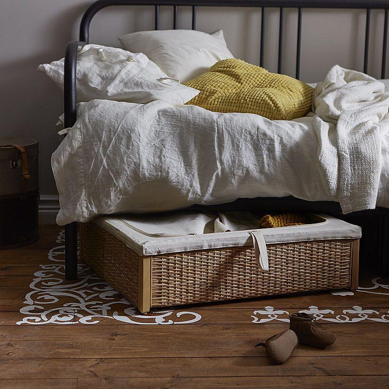 RÖMSKOG BED STORAGE BOX IKEA 2016