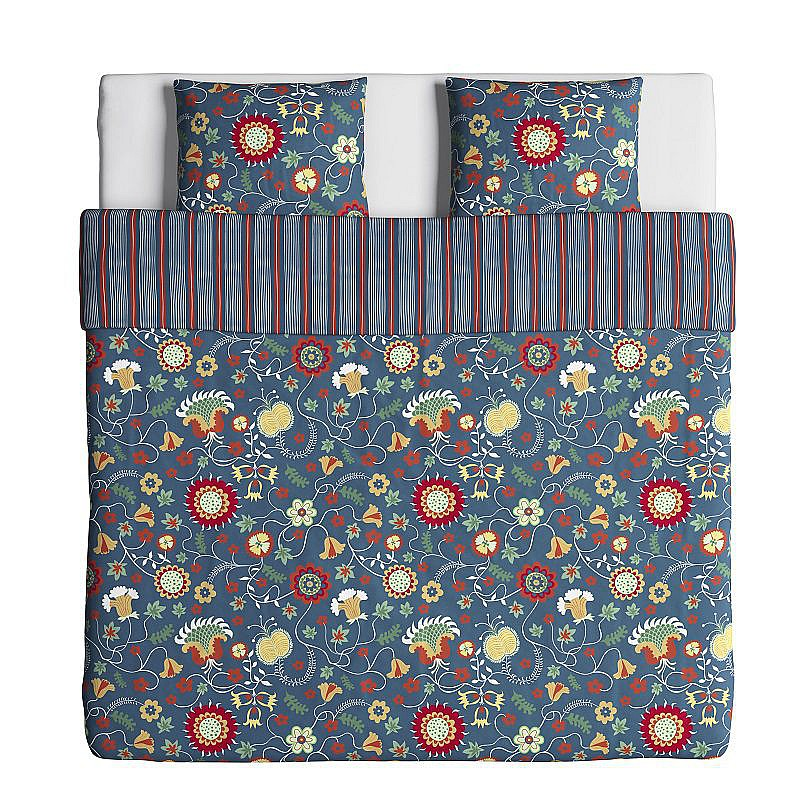ROSENRIPS QUILT COVER + PILLOWCASESIKEA 2016
