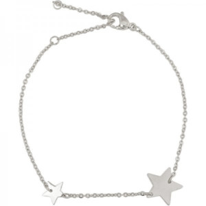 Armband Double Star zilver image