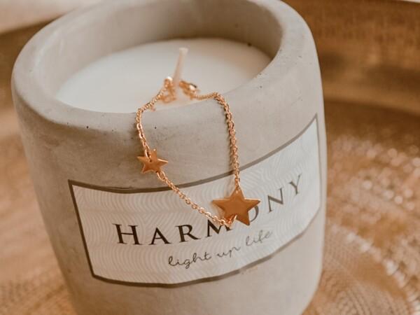 Armband met sterren goud