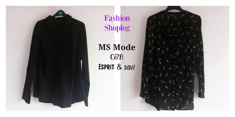 Fashion Shoplog: MS Mode, C&A, Esprit & DIDI!