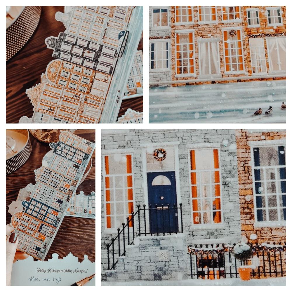 Collage kerstkaarten Black Acres kerstkaarten