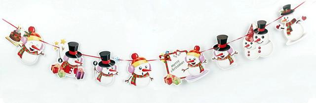 DIY Kerstslinger - Sneeuwpoppen image