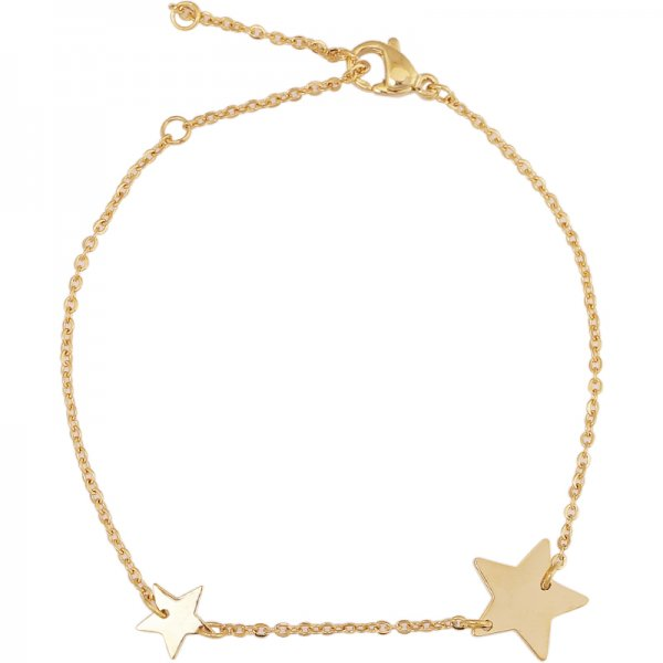 Double Star armband goud
