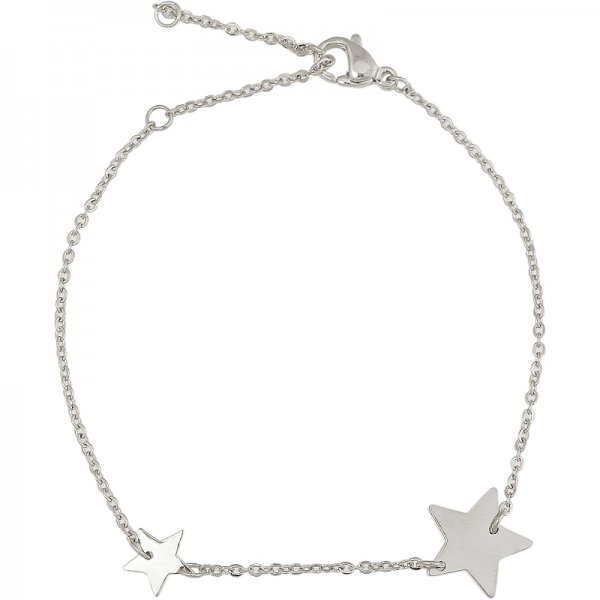 Double Star armband zilver