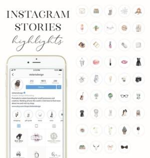 Waar ik mijn leuke kant en klare Instagram Highlight Covers koop