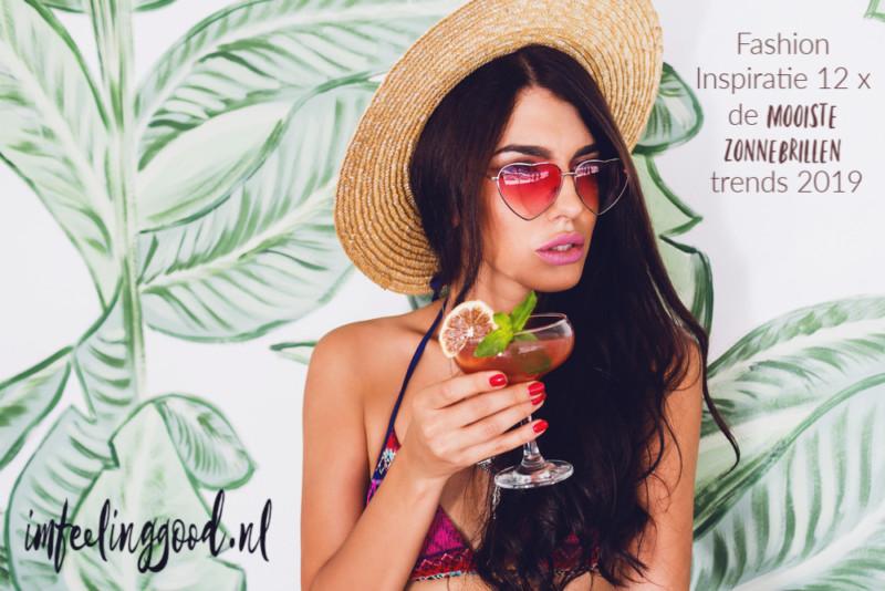 Fashion Inspiratie | 12 x de mooiste zonnebrillen trends 2019