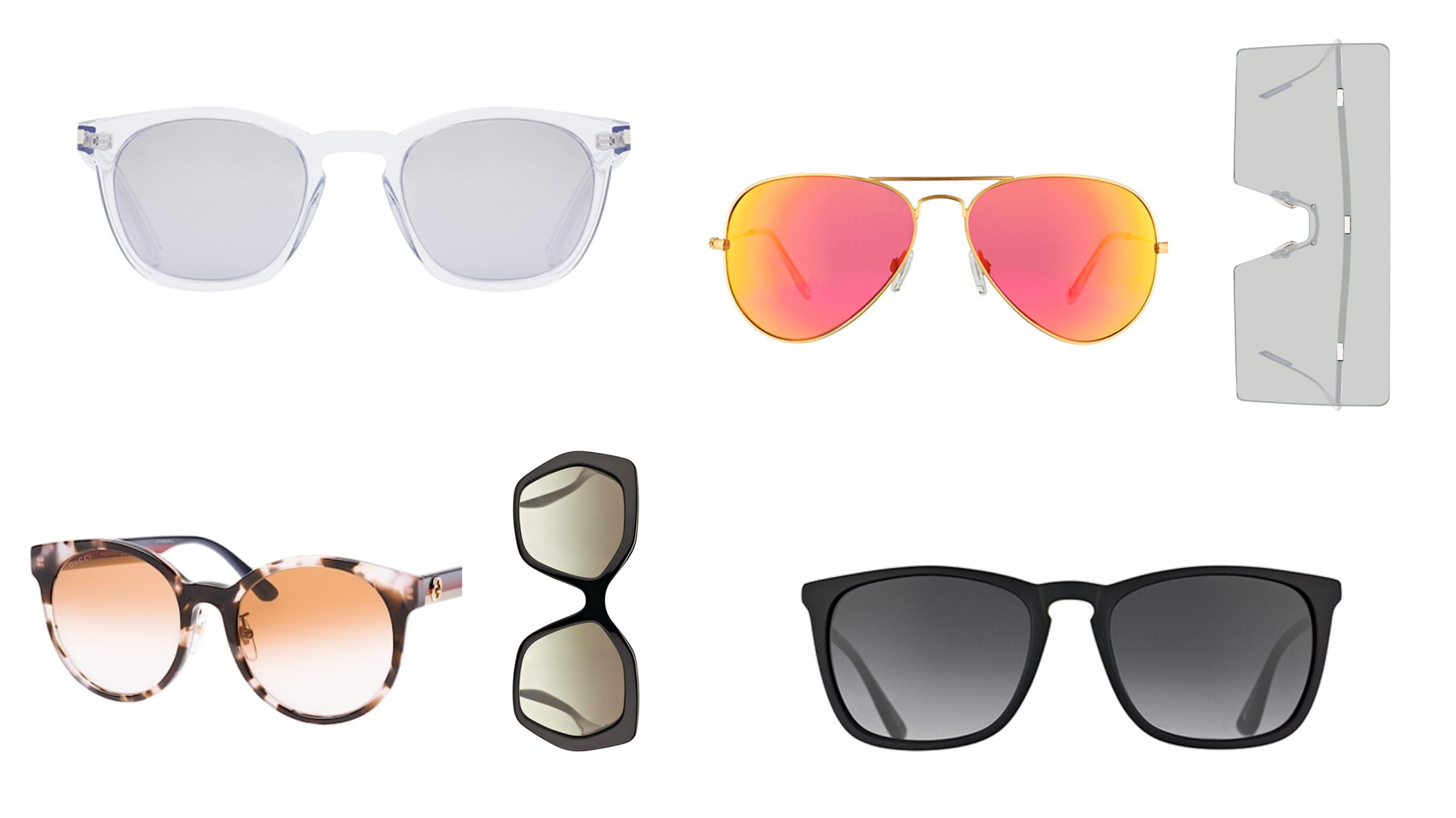 Fashion Inspiratie 12 x de mooiste zonnebrillen trends 2019 - brillen collage 1