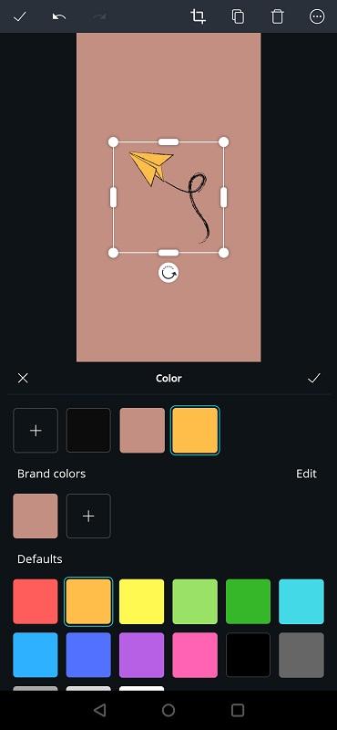 Gele papieren vliegtuigje highlight covers Instagram