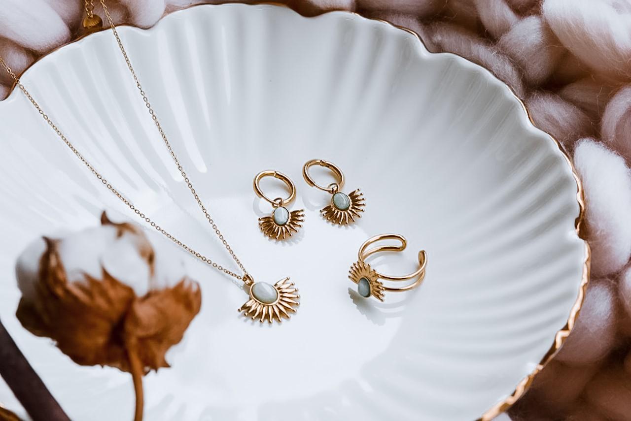 Gold plated sieraden