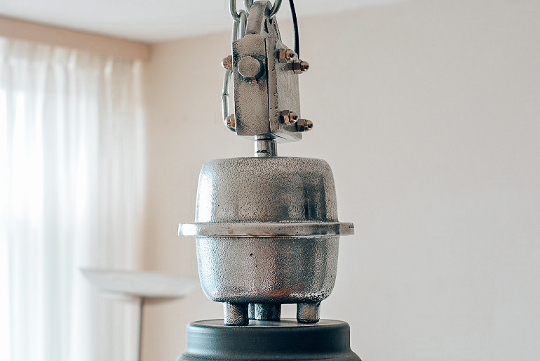 Industriële hanglamp Clinton
