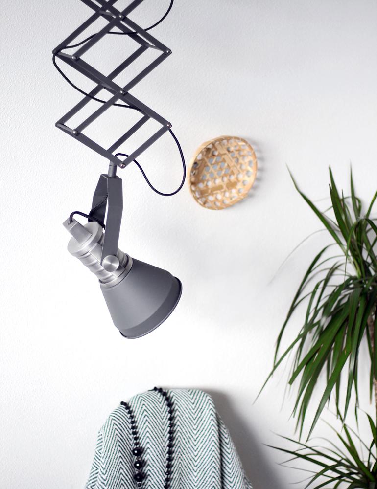 Industriële schaarlamp Brusk