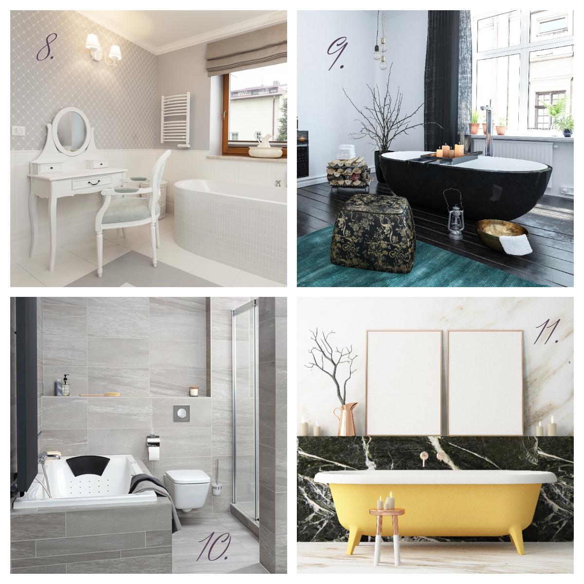 Interieur nieuwe badkamer