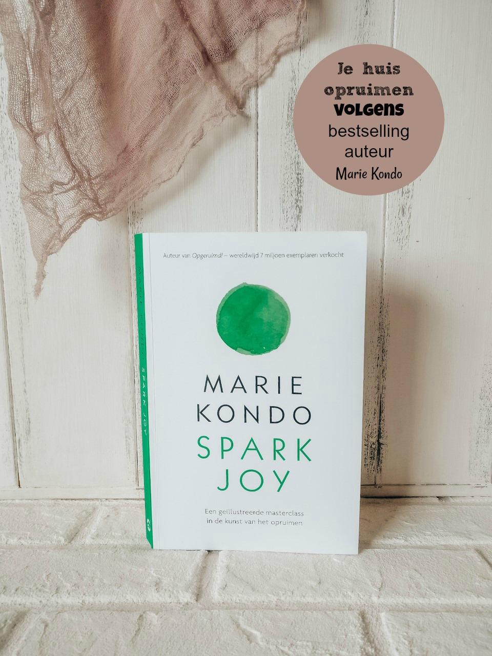 Je huis opruimen volgens bestselling auteur Marie Kondo