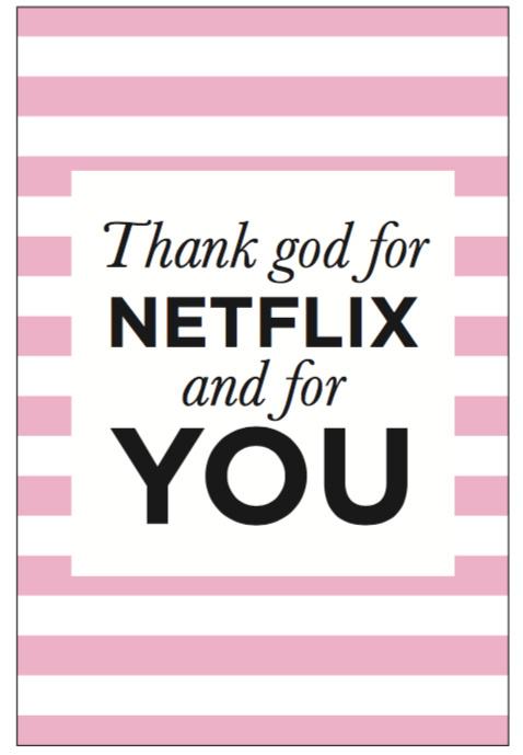 Kaart - Thank god for Netflix image